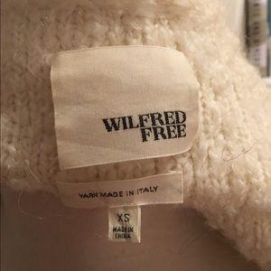 Aritzia Sweaters - ARITZIA WILFRED FREE soft mohair boucle cardigan